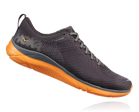 Hoka One One Men's Hupana 2 - Blackened Pearl/Kumquat (1019572-BPKM)