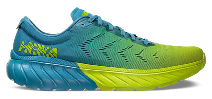 Hoka One One Men's Mach 2 - Storm Blue/Lime Green (1099721-SBLG)