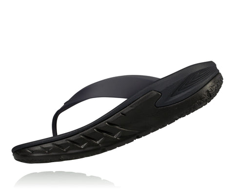 Hoka One One Men's Ora Recovery Flip - Black (1018352-BLK)