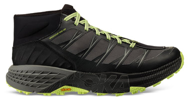 Hoka One One Men's Speedgoat Mid WP - Black/Steel Grey (1093760-BSLG)