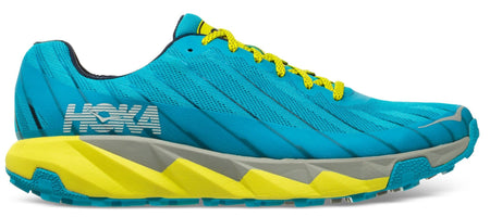 Men's Hoka Torrent Running Shoe Cyan Blue/Citrus 1097751-CBCTR