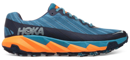 Men's Hoka Torrent Running Shoe Storm Blue/Black Iris 1097751-SBBI