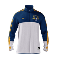 Men's B.A.A. Distance Medley Half Zip - Blue/Yellow (DMHALFZIPM)