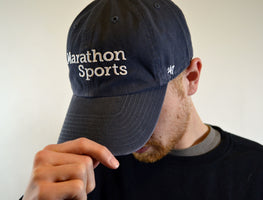 Marathon Sports 47 Brand Hat - Navy/White