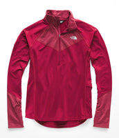 The North Face Women's Winter Warm 1/2 Zip Pullover - Rumba Red (NF0A3LK33YP)