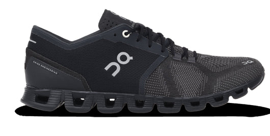 On Running Men's Cloud X - Black/Asphalt (20.4005)