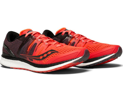Saucony Women's Liberty ISO - ViZi Red/Black (S10410-2)
