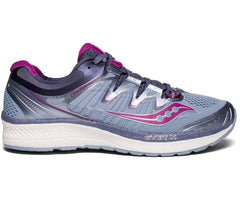 Saucony Women's Triumph ISO 4 - Fog/Grey/Purple (S10413-1)