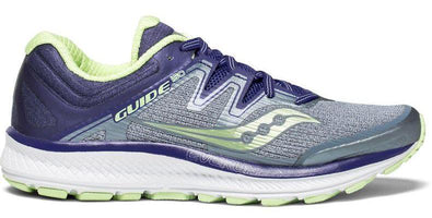 Saucony Women's Guide ISO Wide (D) - Fog/Purple/MInt (S10416-1)