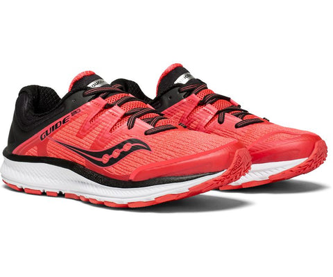 Saucony Women's Guide ISO - ViZi Red/Black (S10415-2)