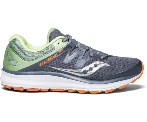 Saucony Women's Guide ISO - Grey/Mint/Orange (S10415-3)