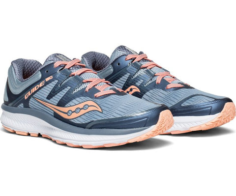 Saucony Women's Guide ISO - Slate/Peach (S10415-5)