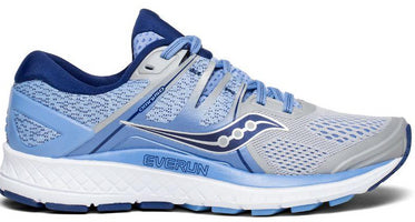Saucony Women's Omni ISO Wide (D) - Silver/Blue/Navy (S10443-1)