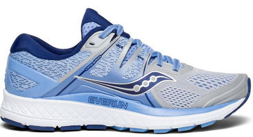 Saucony Women's Omni ISO - Silver/Blue/Navy (S10442-1)