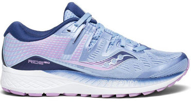 Saucony Women's Ride ISO Wide (D) - Blue/Navy/Purple (S10445-1)