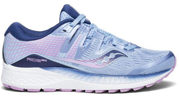 Saucony Women's Ride ISO - Blue/Navy/Purple (S10444-1)