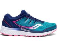 Saucony Women's Guide ISO 2 - Teal/Pink (S10464-3)