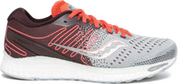 Saucony Women's Freedom 3 - Sky Grey/Coral (S10543-45) Lateral Side