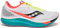 Saucony Women's Endorphin Speed - White Mutant (S10597-10) Lateral Side