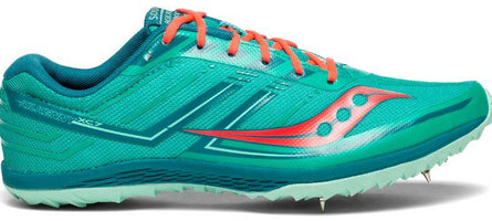 Saucony Women's Kilkenny XC 7 - Teal/Red (S19041-4)