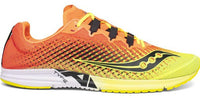 Saucony Women's Type A9 - Citron/Pink (S19065-1) Lateral Side