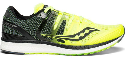 Saucony Men's Liberty ISO - Citron/Black (S20410-3)