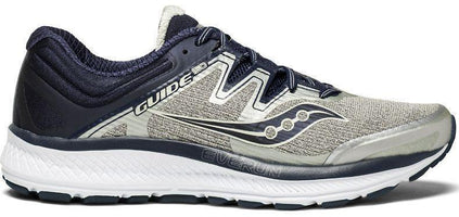 Saucony Men's Guide ISO Wide (2E) - Grey/Navy/Slime (S20416-1)