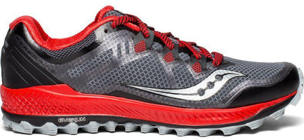 Saucony Men's Perigrine 8 - Black/Red (S20424-4)