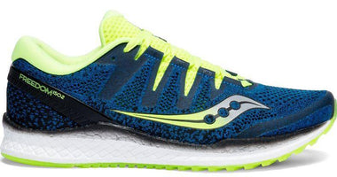 Saucony Men's Freedom ISO 2 - Blue/Citron (S20440-3)