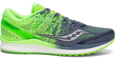 Saucony Men's Freedom ISO 2 - Grey/Slime (S20440-4)