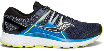 Saucony Men's Omni ISO - Navy/Blue/Citron (S20442-1)