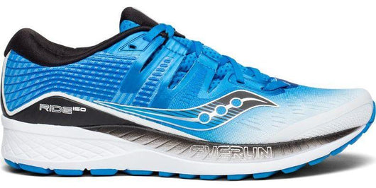Saucony Men's Ride ISO - White/Black/Blue (S20444-1)