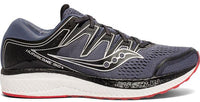 Men's Saucony Hurricane Iso 5 Running Shoe Grey/Black S20460-1