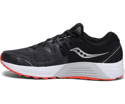 Saucony Men's Guide ISO 2 Wide (2E) - Black/Grey (S20465-3)