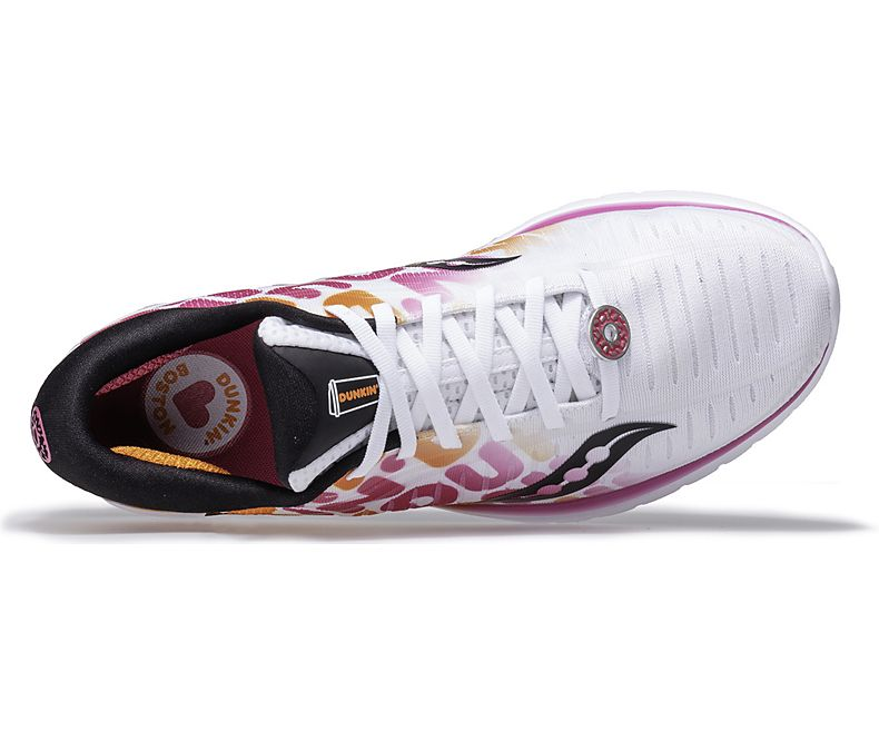 3013a21f Saucony X Dunkin' Women's 2019 Boston Edition Kinvara 10 - White (S104 –  Marathon Sports