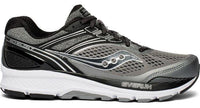 Saucony Men's Echelon 7 Extra Wide (4E) - Grey/Black (S20470-1)