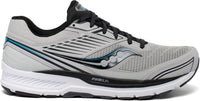 Saucony Men's Echelon 8 - Alloy/Black (S20574-30) Lateral Side