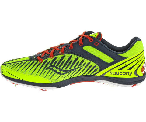Saucony Men's Kilkenny XC5 - Citron/Navy/Red (S29004-4)