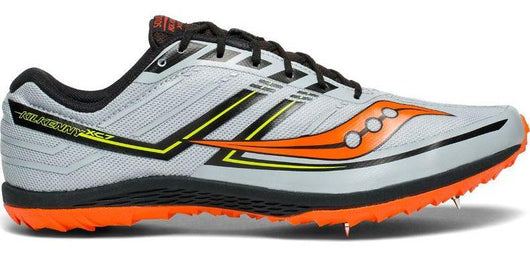 Saucony Men's Kilkenny XC 7 - Grey/Black/Orange (S29041-4)