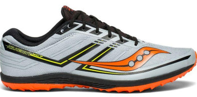 Saucony Men's Kilkenny XC 7 Flat - Grey/Black/Orange (S29042-4)