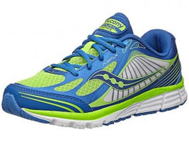 Saucony Boy's Kinvara 5 (Little Kid/Big Kid) - Blue/Green (S99000-8)