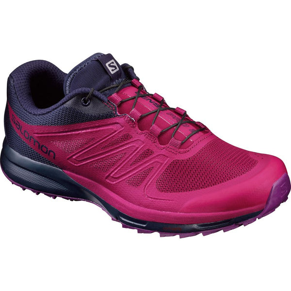 Salomon Women's Sense Pro 2 - Sangria/Evening Blue/Grape Juice (L39250600)