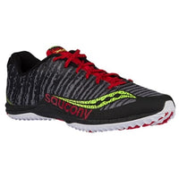 Saucony Men's Kilkenny XC 5 Flat - Black/Citron/Red (S29023-3)