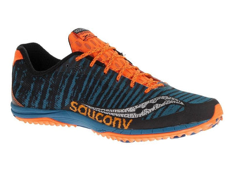 Saucony Men's Kilkenny XC 5 Flat - Royal/Black/Viz Orange (S29023-1)