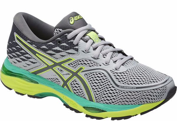 Asics Women's Gel-Cumulus 19 - Mid Grey/Carbon/Safety Yellow (T7B8N.9697)