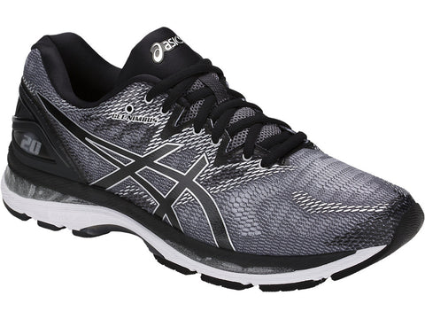 Asics Men's Gel-Nimbus 20 - Carbon/Black/Silver (T800N.9790)