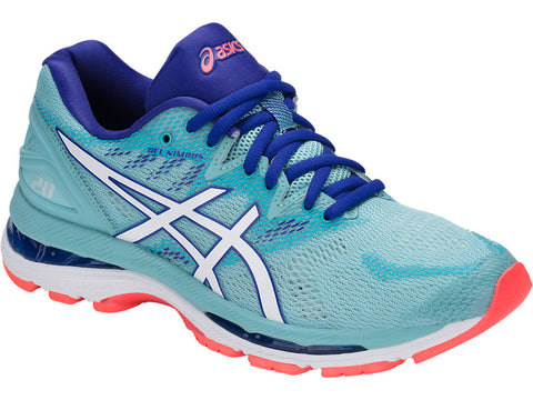 Asics Women's Gel-Nimbus 20 - Porcelain Blue/White/Asics Blue (T850N.1401)