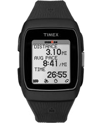 Timex Ironman GPS Training Watch - Black/Black (TW5M11700)