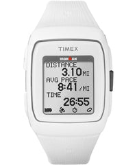 Timex Ironman GPS Training Watch - White/White (TW5M11900)