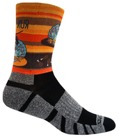 Brooks Unisex PaceSetter Turkey Day Running Crew Socks (7695)
